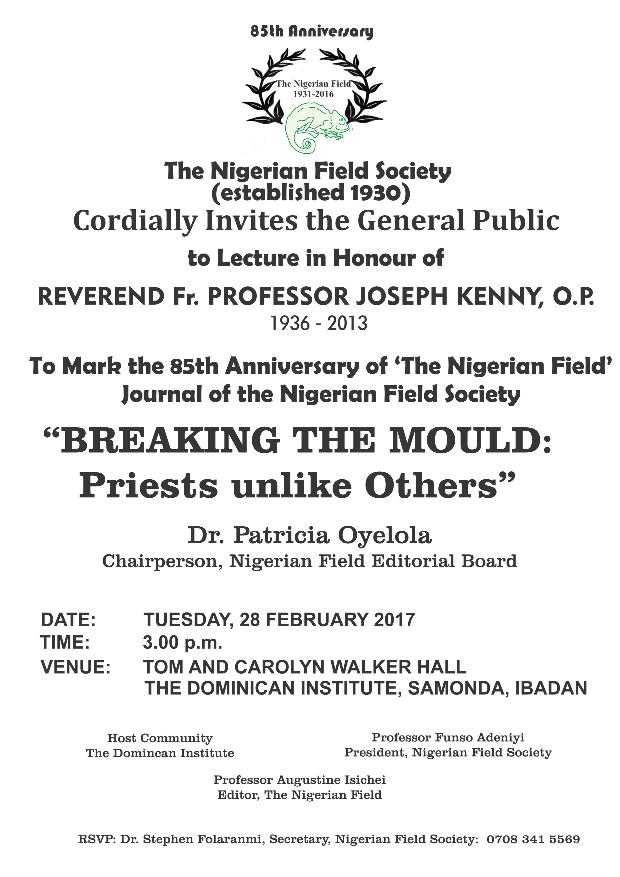 lecture Ibadan 2017